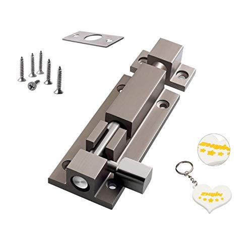 Zhi Jin 1Pc Thick Slide Barrel Door Bolt Latch Heavy Duty Gate Lock Security Guard Hardware