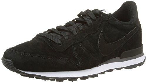 Nike Internationalist 631755 Herren Sneakers, Black/Black-Dark Grey-White, 44 EU