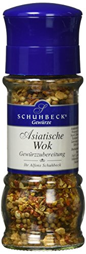 Schuhbeck Schuhbecks Gewürzmühle Asiatischer Wok, 1er Pack (1 x 35 g)