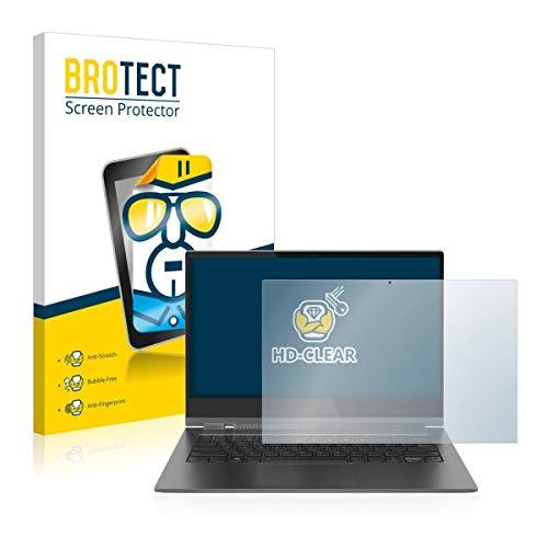 BROTECT HD Clear Bildschirmschutz Schutzfolie für Lenovo Yoga C930 (kristallklar, extrem Kratzfest, schmutzabweisend)