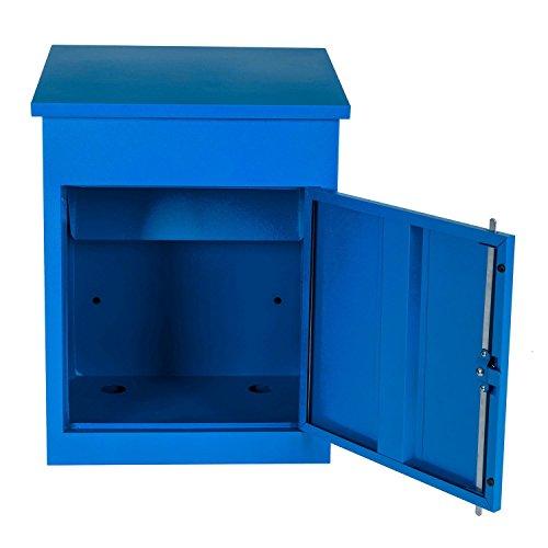 Paketbriefkasten Smart Parcel Box, blau - 5