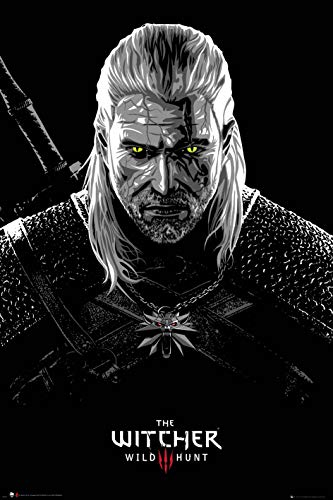 GB eye Poster The Witcher Toxicity Poisoning Papier Multicolore 61 x 91,5