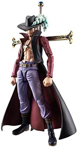 kaige Anime Carcter Modelo 34 cm One Piece Anime Figura Dracule Mihawk Figura Santoryu Ver.Figura de accin de PVC Toy Hawk-Eyes MAX Collectible Modelo de Regalo de mueca - con Caja WKY