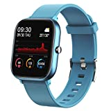 Fitness Tracker, FirYawee Smart Watch for Android Phones,1.4' Touch Screen IP70 Waterproof Smartwatch with Heart Rate Monitor Sleep Monitor, Step/Distance/Calorie Counter Fitness Watch for Women Men
