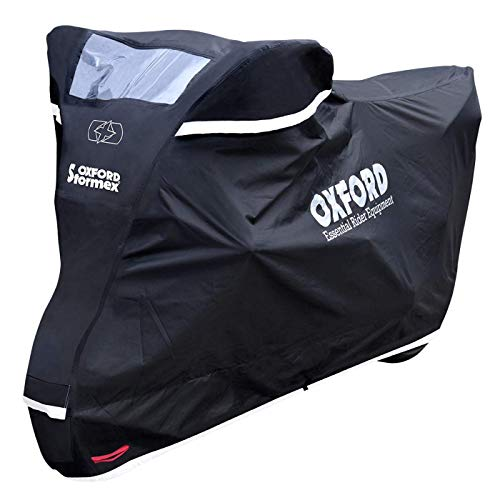 Oxford Stormex Bâche de Protection de Moto étanche pour Tous Les Temps XL Nouveau MODÈLE 2016.