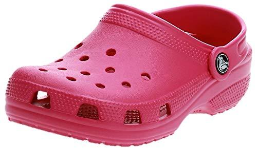 Crocs Classic Clog Kids Roomy fit Zuecos Unisex niños, Rosa (Candy Pink 6X0), 25/26 EU