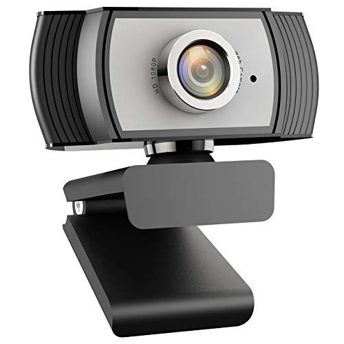 Arbalest USB 1080P HD Streaming Webcam con microfono per Desktop Computer Portatile Riduzione del Rumore Grande per Video Conferenze Online Lavoro Casa Ufficio YouTube Registrazione Streaming Tuta