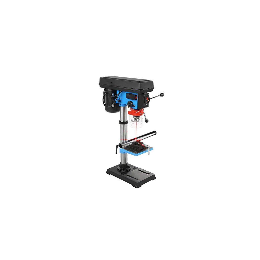 Perceuse à colonne de qualité industrielle, perceuse à colonne électrique à 9 vitesses avec fonction de position laser…