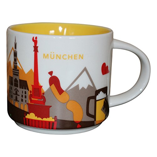 Starbucks You Are Here Collection München Oktoberfest Coffee Cup Munich Starbucks