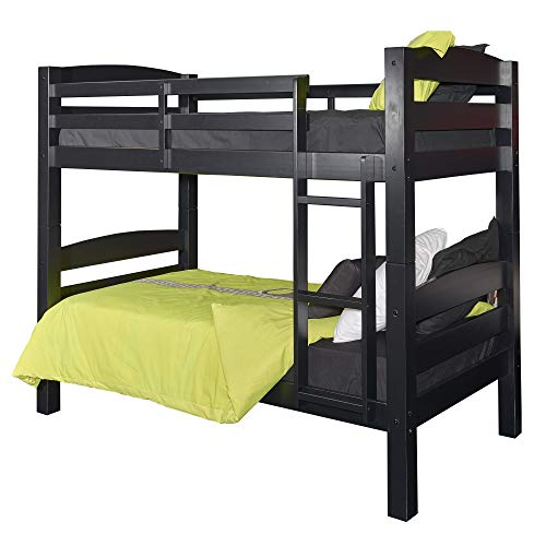 Powell Furniture Levi Bunk Bed, Black