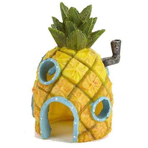 Pet Ting Adorno de decoración de casa de piña de Bob Esponja