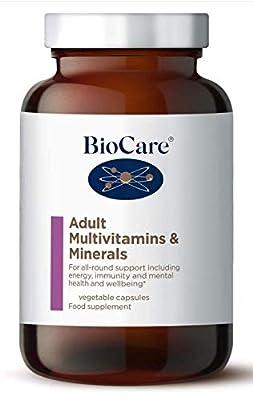 Biocare - Adult Multivitamins and Minerals - 90 caps
