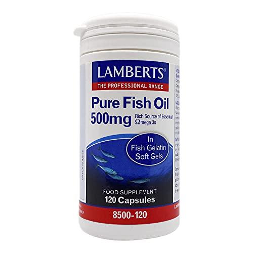Lamberts Aceite de Pescado 500mg - 120 Capsulas