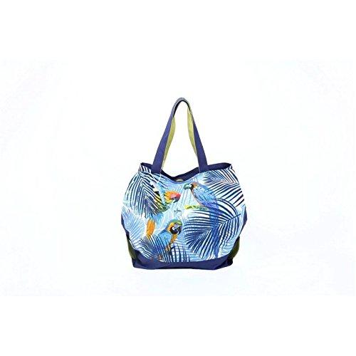 PE Florence 6189001 Strandtasche/Shopper XL Blue Parrots