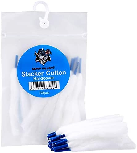 Organic Cotton for DIY Project Threads Wick Slacker Cotton Hardcover 30pcs bag product image