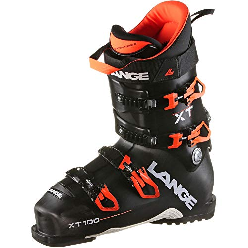 Lange heren skischoenen XT 100 – maat 47 – zwart