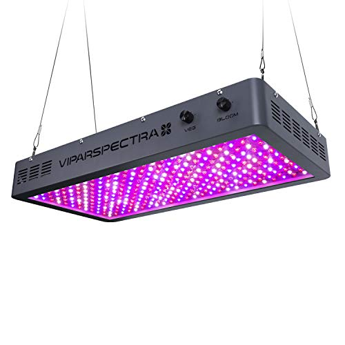 Plant Grow Light, VIPARSPECTRA Newest Dimmable 3000W LED Grow Light, with with Bloom and Veg Dimmer, Dual Chips Full Spectrum LED Grow Lamp for Hydroponic Indoor Plants Veg and Flower(10W LEDs 300Pcs)