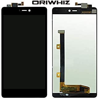 ORIWHIZ LCD Screen +Touch Screen Digitizer Assembly Without Frame Mobile Phone Repair Part for Xiaomi Mi4i(Black)