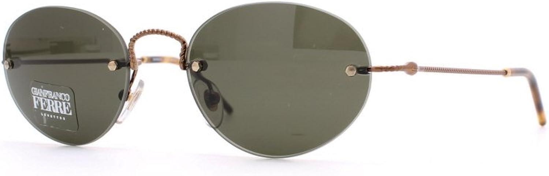 Gianfranco Ferre 411 3HF Brown Authentic Men  Women Vintage Sunglasses