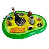 DIVEBLAST: Avocado Floating Drink Holder for Pools, Hot Tub Accessories for Adults, Drink Floaties   Floating Tray for Pool, Floating Bar for Pools, Pool Drink Holder Floats   Hot Tub Drink Holder