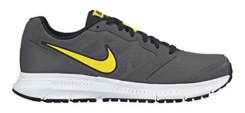 Nike Downshifter 6, Scarpe da corsa Uomo, Multicolore (Dark Grey/Opt Yellow-Blk-White), 40