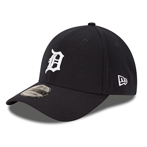 New Era Men's Team Classic 3930 Detroit Tigers Home Navy Hat MD/LG