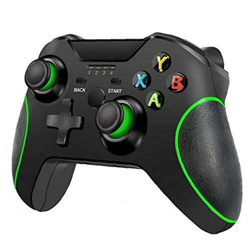 MaylFre Wireless Gamepad Joypad Joystick Interruptor Remoto Controlador para Microsoft Xbox One/S/X/E / PS3 / Windows 10 Negro Usado en la Vida Diaria de Interior y Exterior