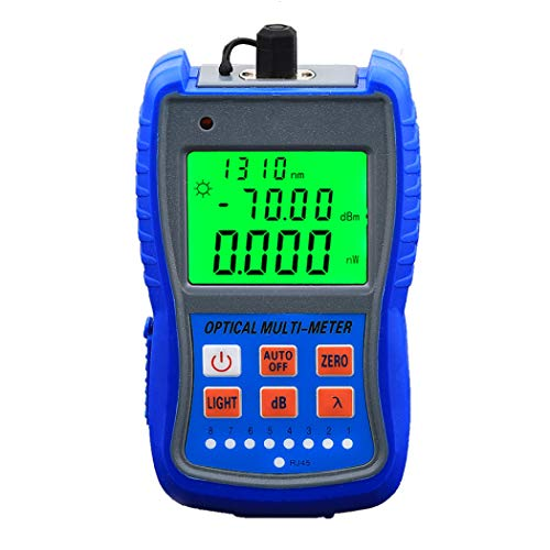 Mini Optical Power Meter With RJ45 Remote Network Cable Test Tool...