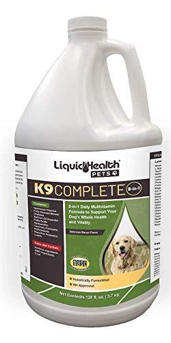 LIQUIDHEALTH Liquid Health K9 Complete 8-in-1 Multivitamin 128 oz (Gallon)
