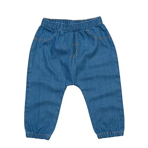 BabyBugz Baby Rocks - Pantalones de mezclilla (6 a 12 meses), color azul