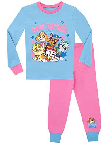 Paw Patrol Pijamas para Niñas Chase Marshall Skye Everest Ajuste Ceñido Multicolor 3-4 años