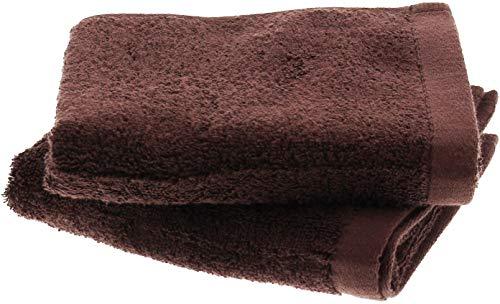 フェイスタオル 神様のタオル 高級スーピマ綿を使ったプレミアム 2枚入り チョコレート SF003