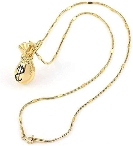 Collar Moda Ancho Oro cuadrado Cadena de serpiente Hombres S Mujeres Collar Joyas Acero inoxidable 316L Collares impermeables 55cm Collar colgante Regalo para hombres Mujeres Niñas Niños