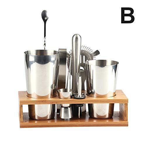 Cocktail Shaker Set, 12PCS Bartending de Ploufer