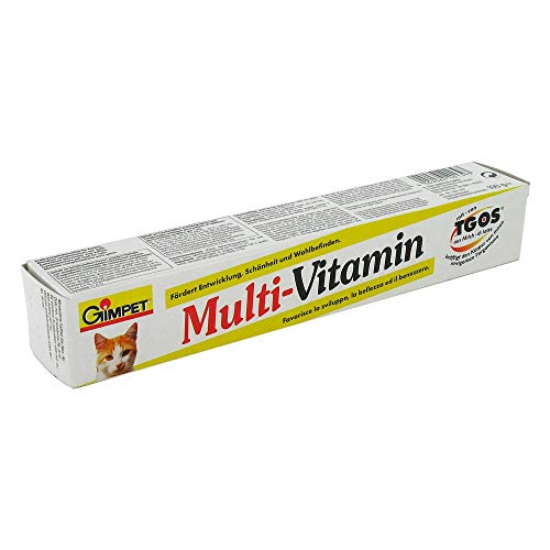 GIMPET Multi-Vitamin Paste Plus m.Tgos für Katzen 100 g