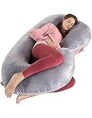 Dream night poduszka ciążowa w kształcie litery C z poszewką z dżerseju (dżersej) 100% bawełna