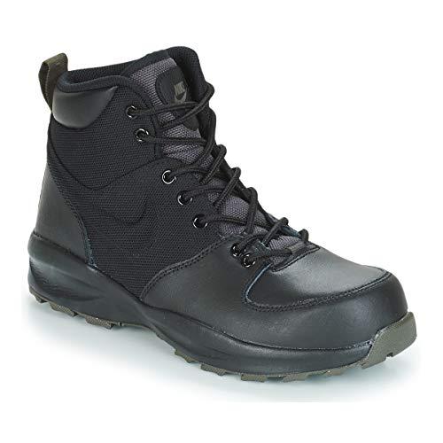 Nike Herren Manoa (gs) Trekking- & Wanderstiefel, Mehrfarbig (Black/Black/Newsprint 002), 38.5 EU