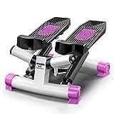 JYKJ Mini Stepper, Mute Pedal Multifunción Calor Consumo Stovepipe Máquina De Adelgazamiento Reducción De Peso Stepper Pie De Escalada Máquina De Adelgazamiento Fitness Machine (Color : Purple)