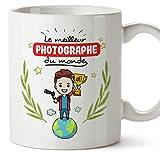 MUGFFINS Mug/Tasse Photographe (Meilleur du Monde) - Idées Drôles Photographie