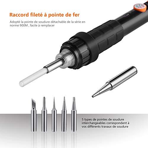 Fer à Souder Electrique, Tacklife SKY47AC /Kit pour Souder et Dessouder /220V-240V 60W...