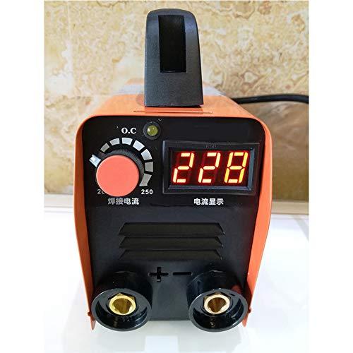 Soldador de Arco inversor, Pantalla LCD eléctrico máquina de Soldadura de Arco 20-250A / Inversor soldadores de Soldadura de Trabajo