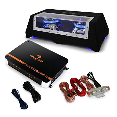 AUNA Car Sound System 'Black Lin...