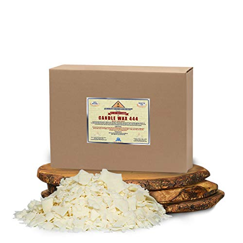 All Natural, Golden Brands, Candle Making Soy Wax 444 Flakes 50 LB (800 oz) Unscented, USA Made, for DIY Candle Making, Candle Projects, Kits, Supplies (USA) (50 LB)