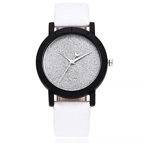 Förderung! Mode Armbanduhr Analog Quarz Uhr Frauen Elegant Uhr mit Lederband Sport Damenuhr Geschenk LEEDY