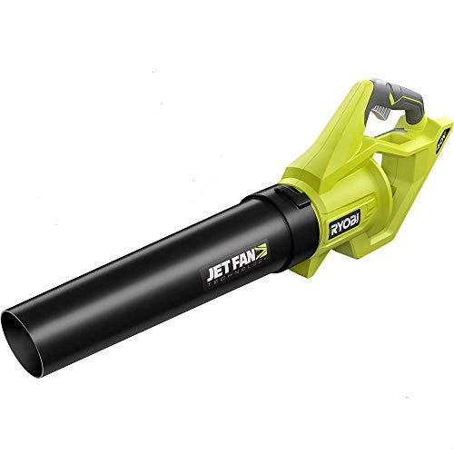 Ryobi 40-Volt Baretool Lithium-Ion Cordless Jet Fan Leaf Blower with Variable-Speed 110 MPH 500 CFM; 2019 Model RY40460 (Battery and Charger Not Included) (Renewed)