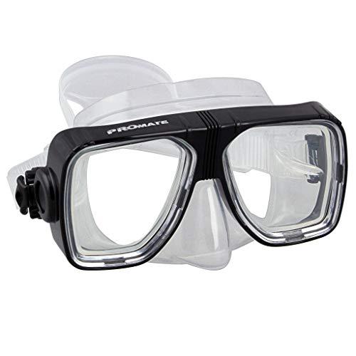 Promate Scope Scuba Dive Mask, Black