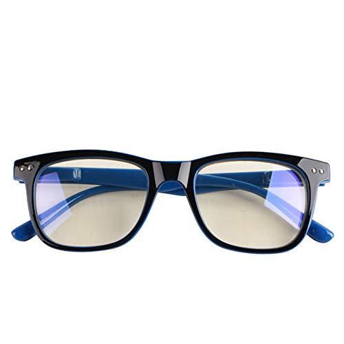 RUIXFPU Bequeme Brille mit blauem Licht gegen Kopfschmerzen und Augenbelastung, super leicht, Computer-Gaming-Brille, Mode-Zubehör, Unisex, leicht, 3