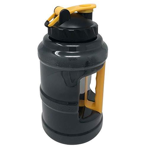 CareMont Botella de Agua de Fitness Gimnasio 2,5L Botella de Agua Al Aire Libre con Manija para Ciclismo Deporte Viaje
