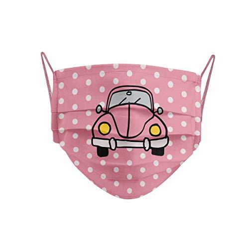 Cencibel Smart Casual Mascarilla coche Beetle rosa o escarabajo Callate La Boca