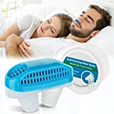 2 in 1 Anti Snoring Devices, Snore Stopper for Stop Snoring and Good Breathing - Safe, Instant and Effective Air Purifier, Nose Vents Plugs for Comfortable